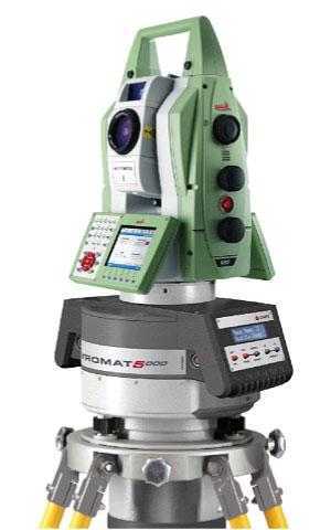 Комплект GYROMAT5000 c тахеометром Leica TDRA6000