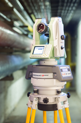 Комплект GYROMAT5000 c теодолитом Leica TM6100A