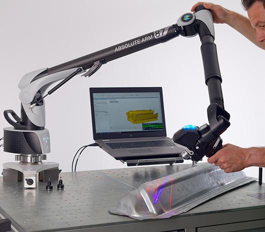 Hexagon Absolute Arm SI с внутренним сканером, RS6