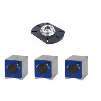 Основание с установочным кольцом и магниты для установки